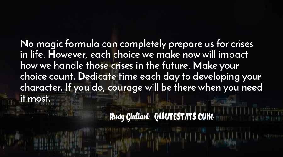 Prepare For Your Future Quotes #1138673