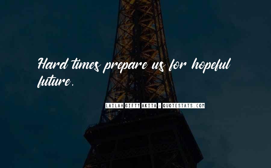 Prepare For Your Future Quotes #117985