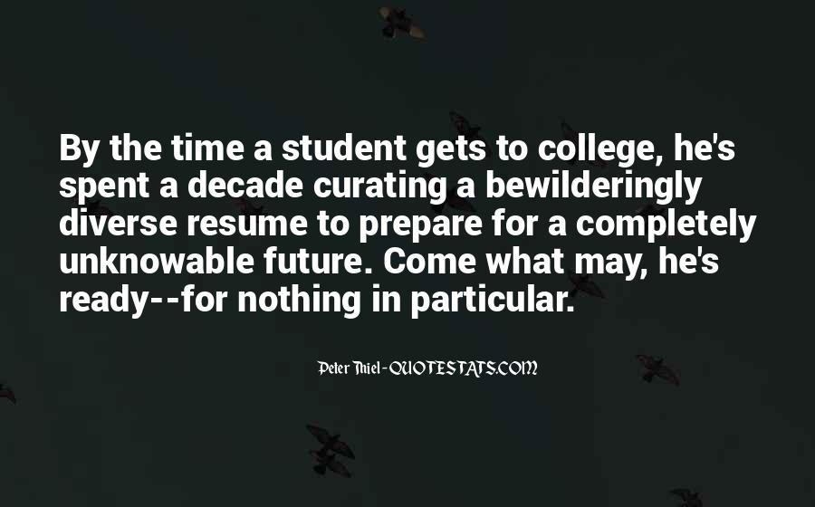 Prepare For Your Future Quotes #175059