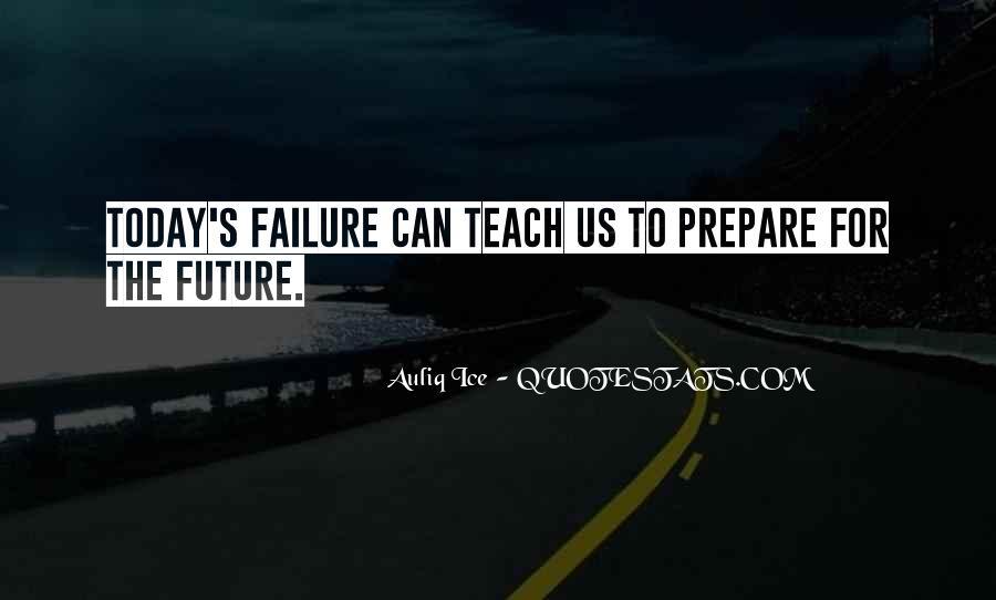 Prepare For Your Future Quotes #262393