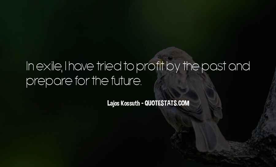 Prepare For Your Future Quotes #287839