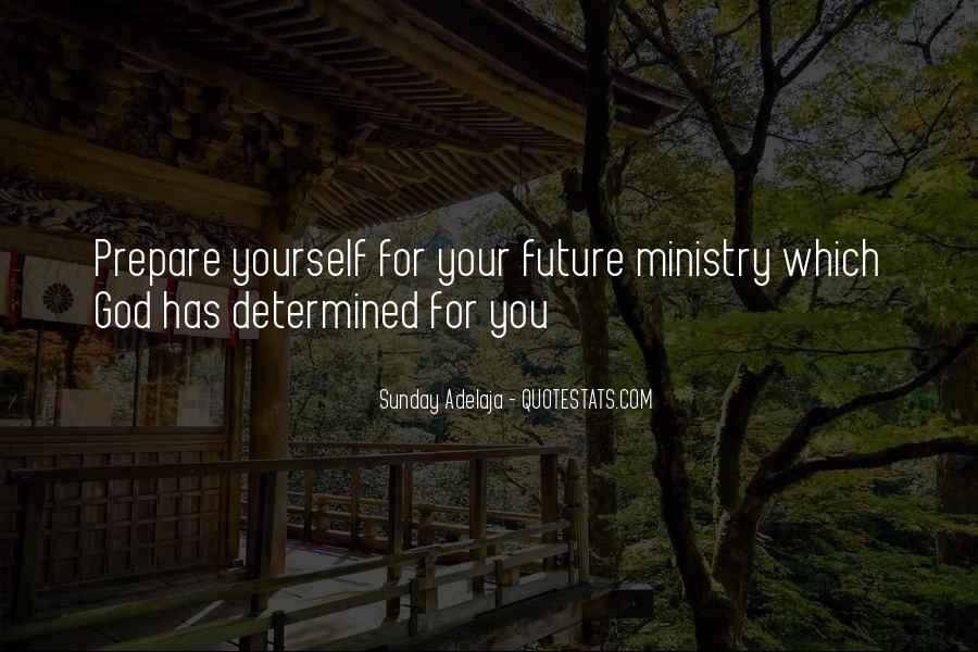 Prepare For Your Future Quotes #433327