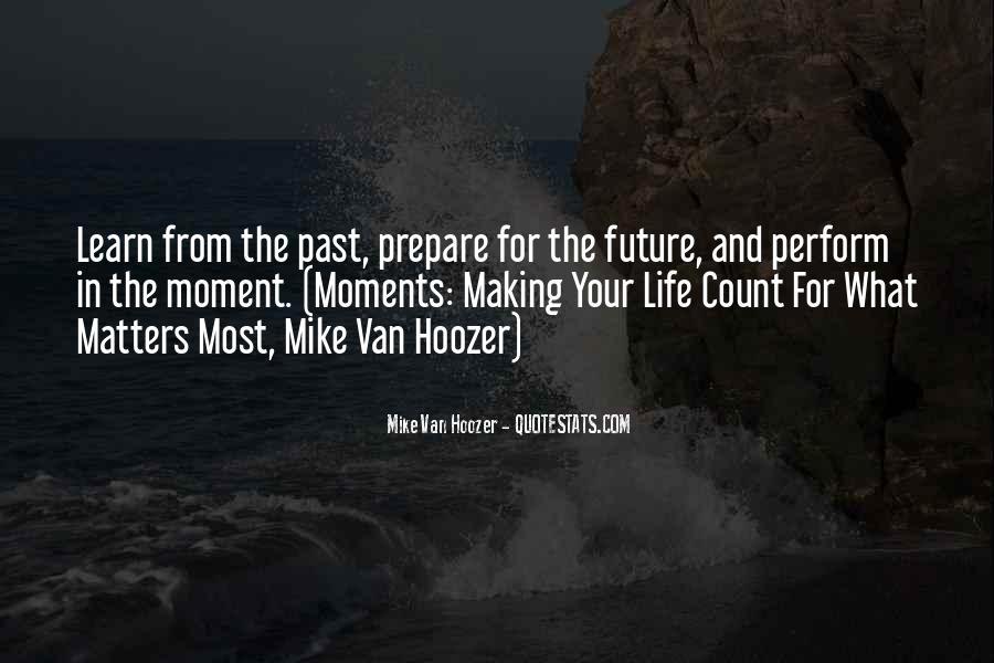 Prepare For Your Future Quotes #483655