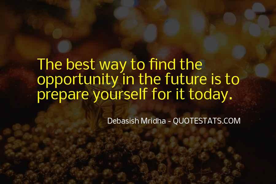 Prepare For Your Future Quotes #573534