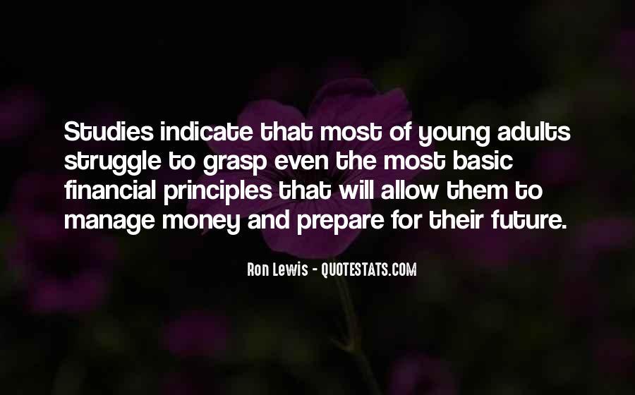 Prepare For Your Future Quotes #591117