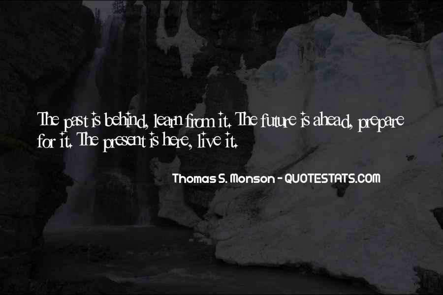 Prepare For Your Future Quotes #857257
