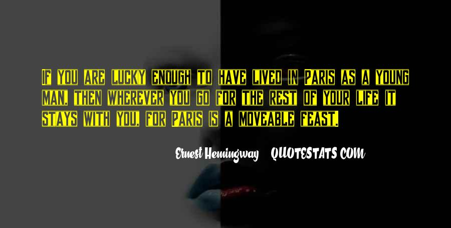 Quotes About Being Lucky To Have You In My Life #275630