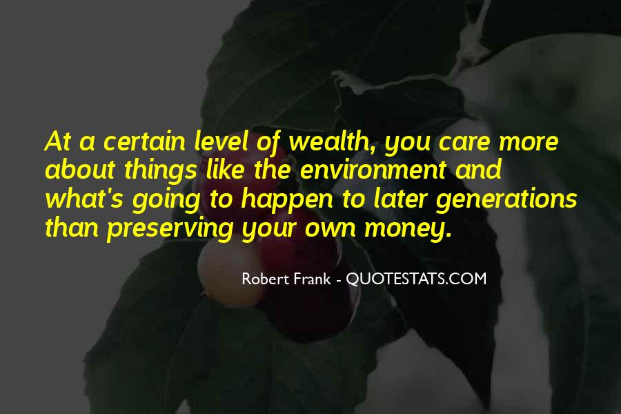 Preserving Wealth Quotes #776976
