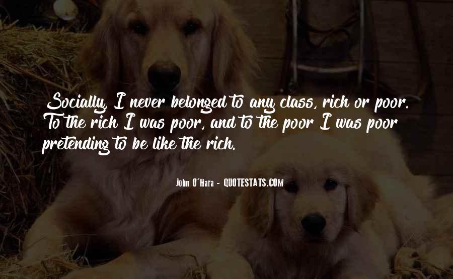 Pretending Rich Quotes #480793