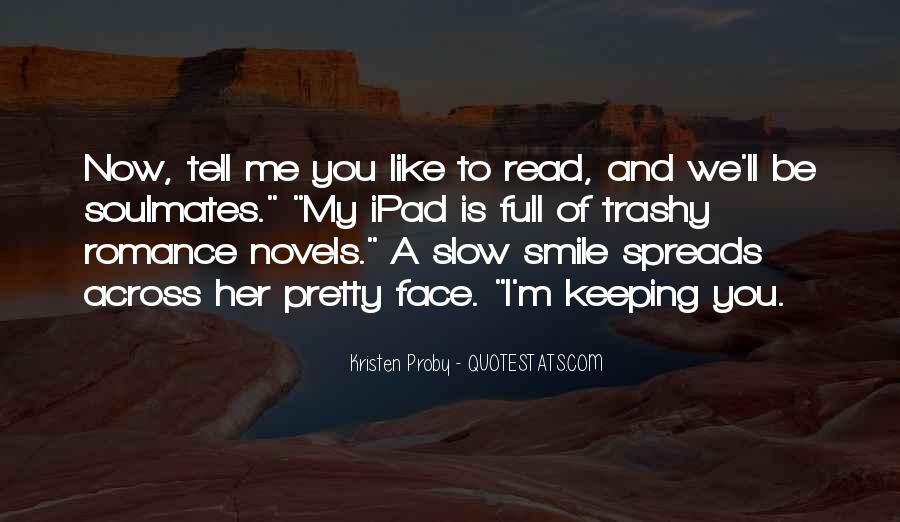 Pretty Face And Smile Quotes #1404705
