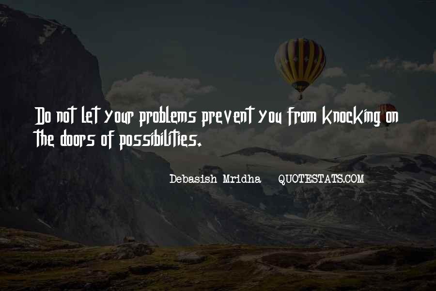 Prevent Problems Quotes #341904