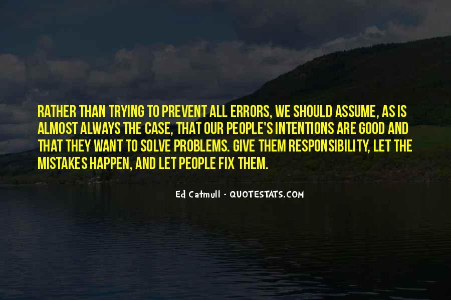 Prevent Problems Quotes #431901