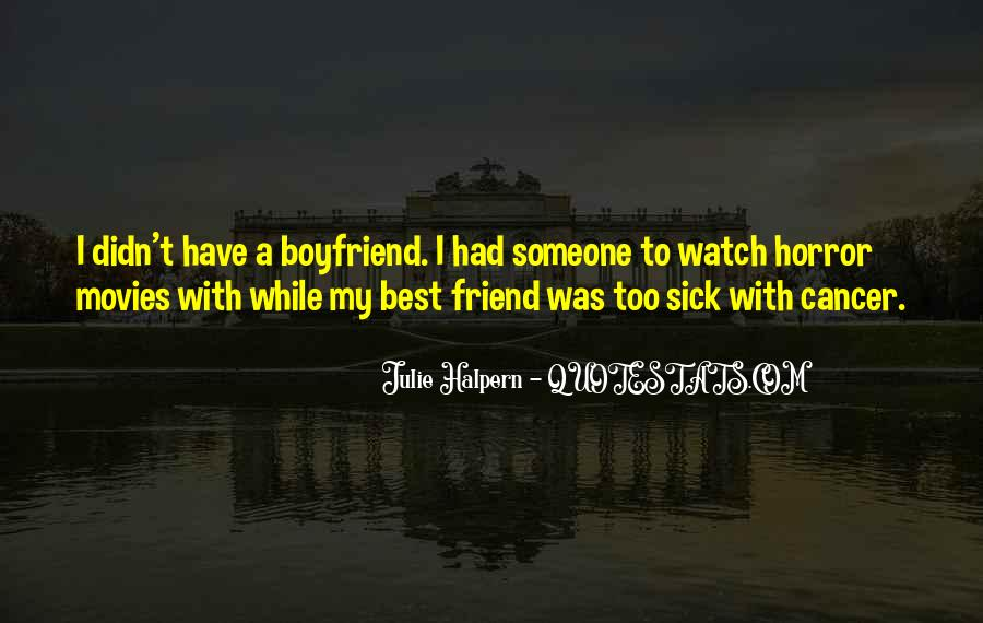 Quotes About A Friend Having Cancer #694708