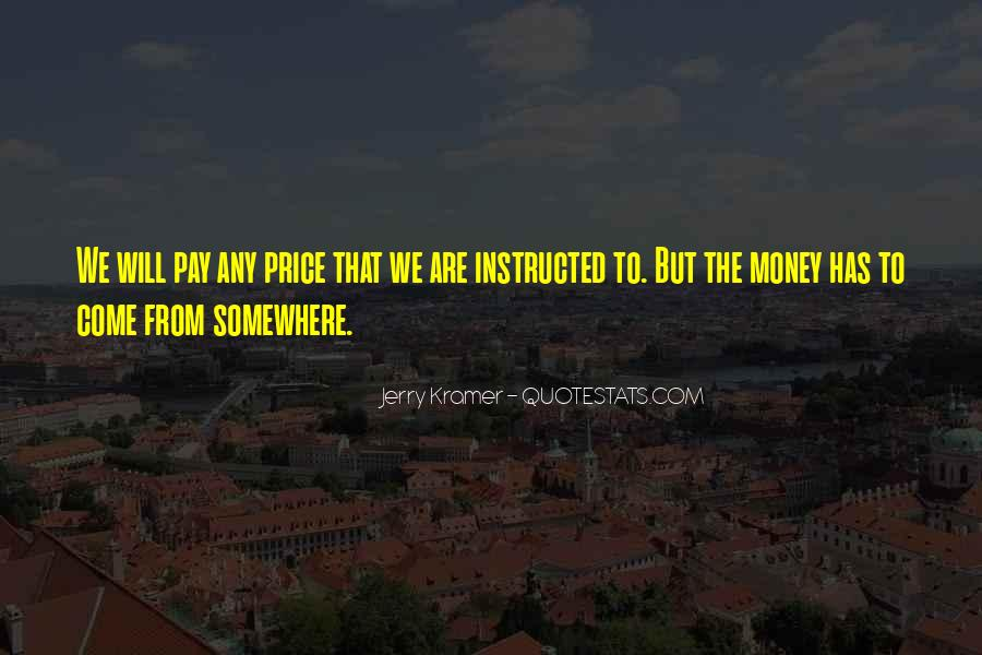 Price We Pay Quotes #228141