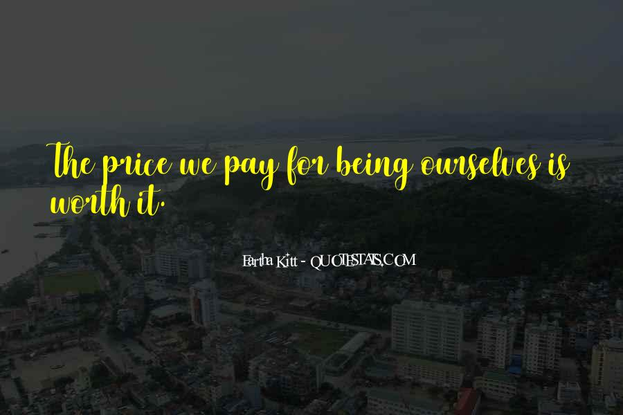 Price We Pay Quotes #309901