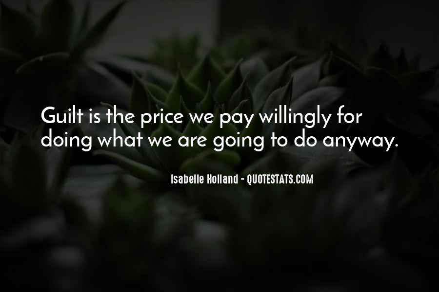Price We Pay Quotes #583630
