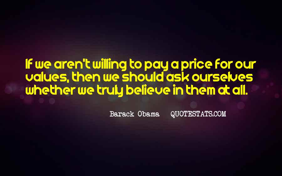 Price We Pay Quotes #736005