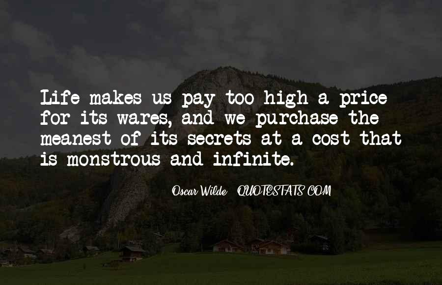Price We Pay Quotes #91736