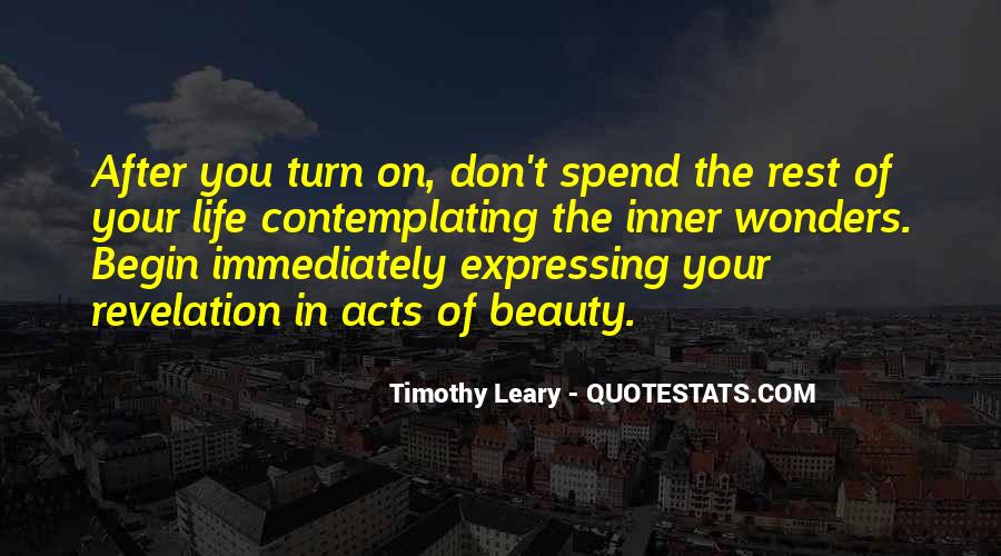 Quotes About Timothy Leary #1221569