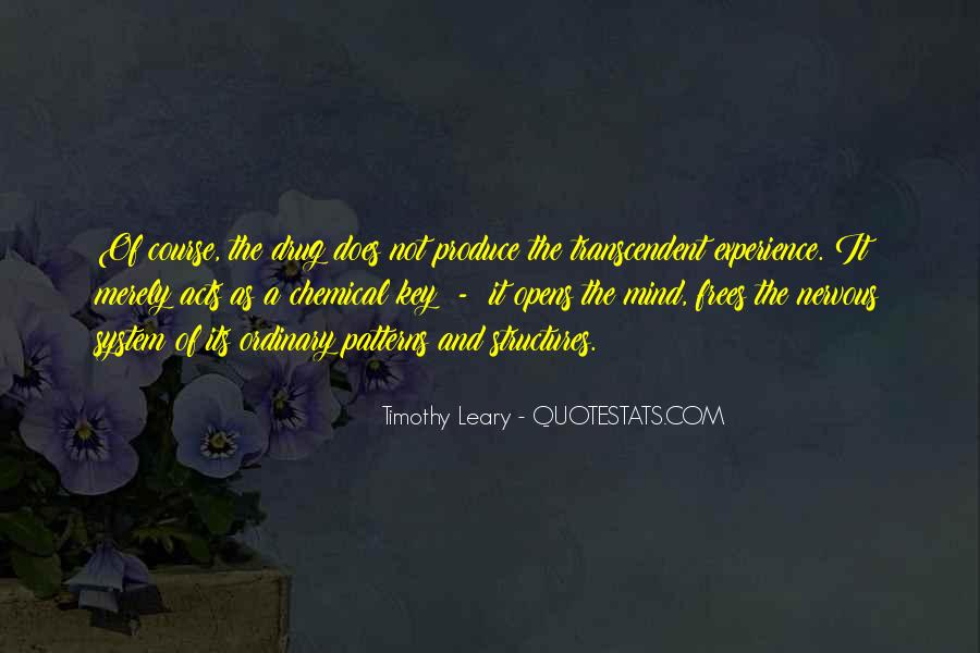Quotes About Timothy Leary #1281291