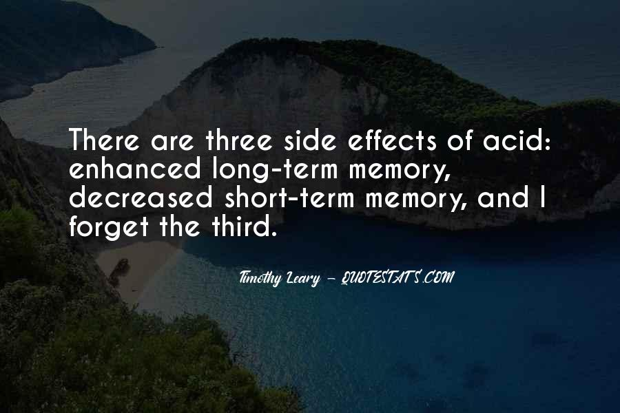 Quotes About Timothy Leary #1315626