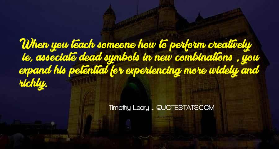 Quotes About Timothy Leary #1417371