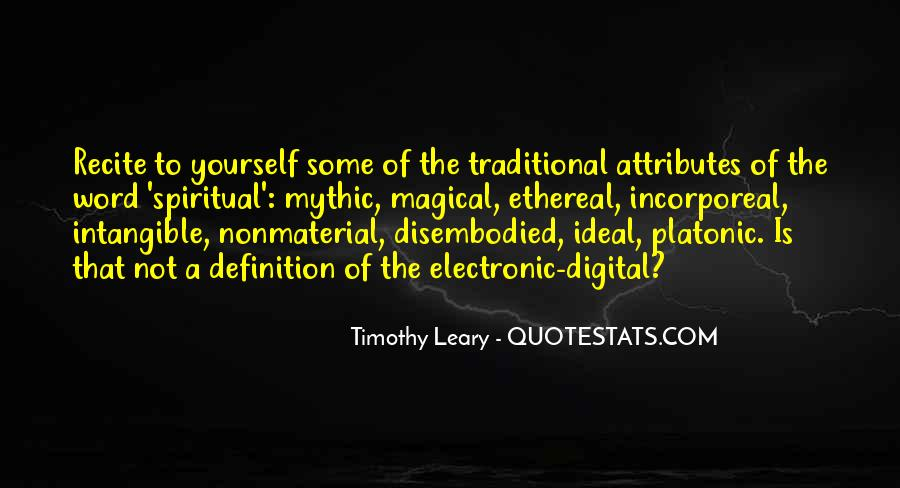 Quotes About Timothy Leary #155739