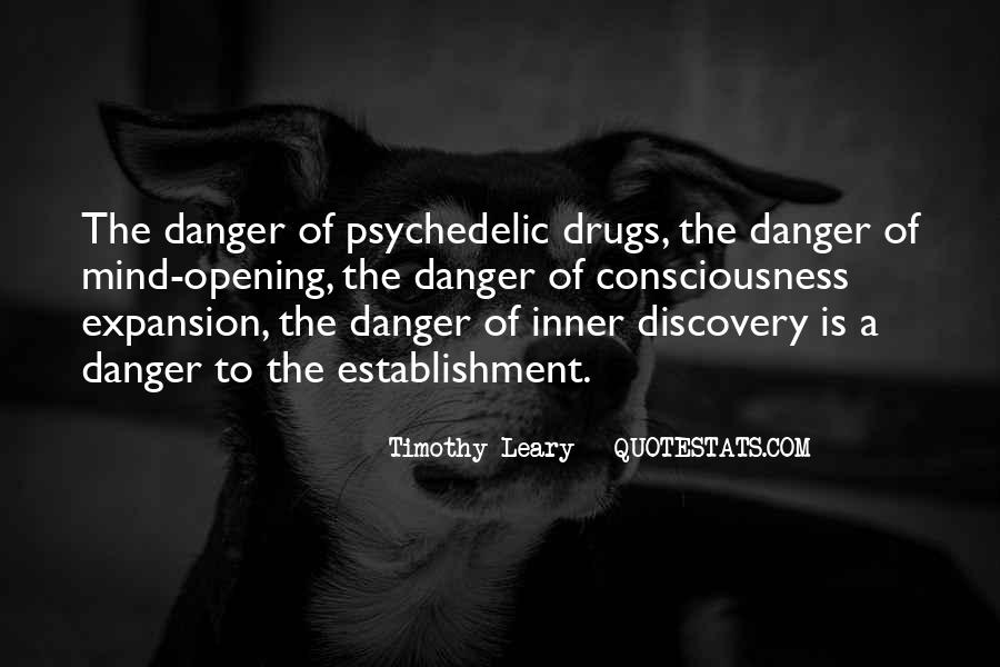 Quotes About Timothy Leary #297544
