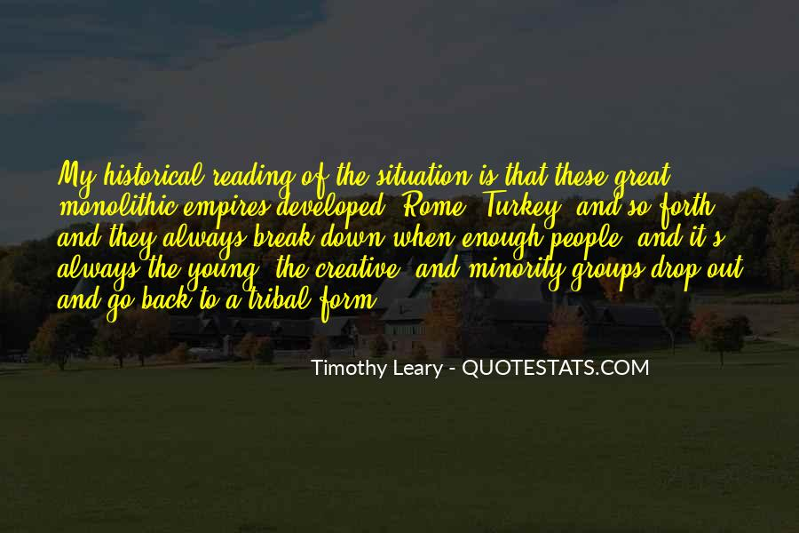 Quotes About Timothy Leary #458503
