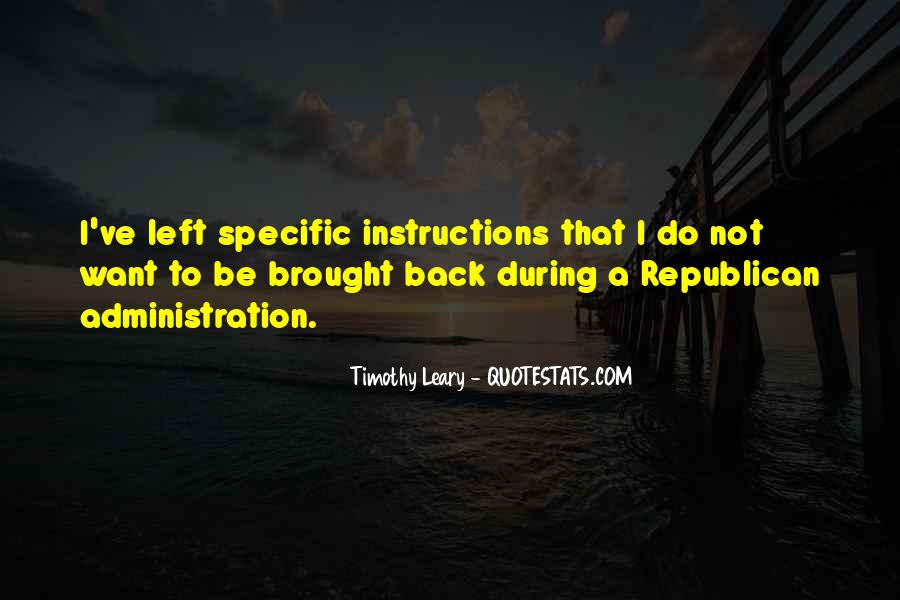 Quotes About Timothy Leary #519499