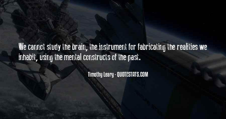 Quotes About Timothy Leary #728220