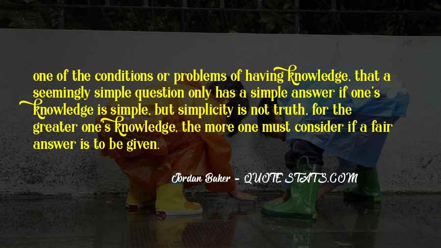 Quotes About Jordan Baker #679540