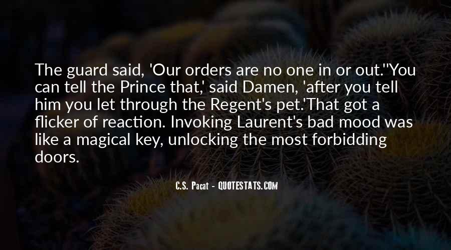 Prince Regent Quotes #4143