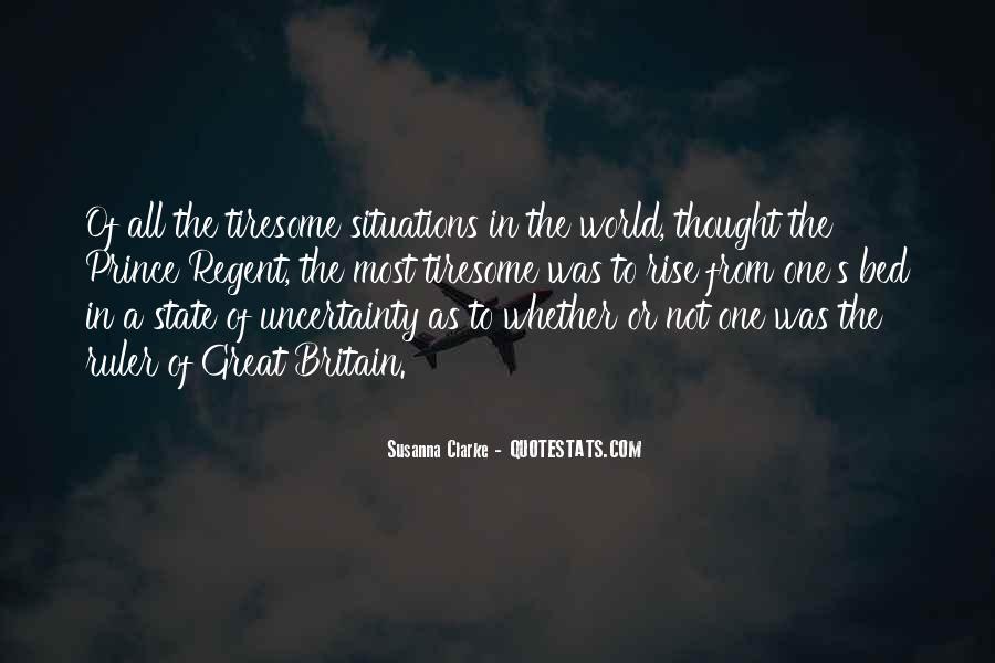 Prince Regent Quotes #521527