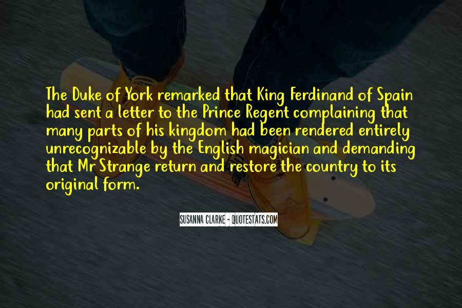 Prince Regent Quotes #942524