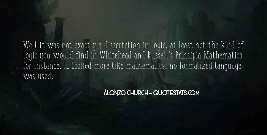 Principia Mathematica Quotes #1105559