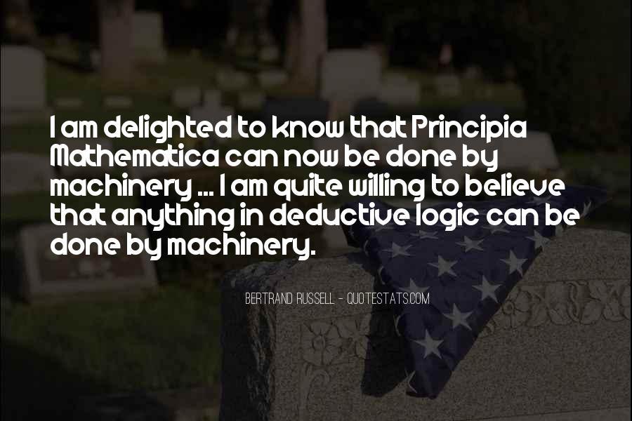 Principia Mathematica Quotes #1339049