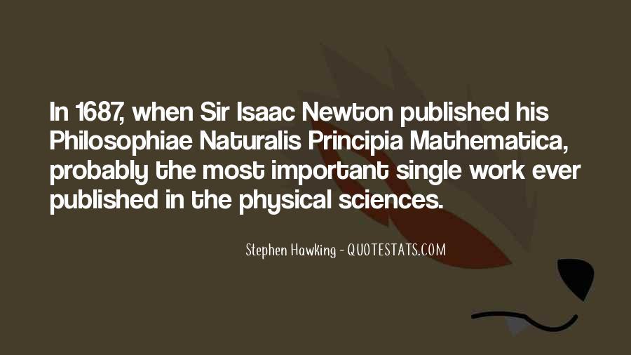 Principia Mathematica Quotes #1397941