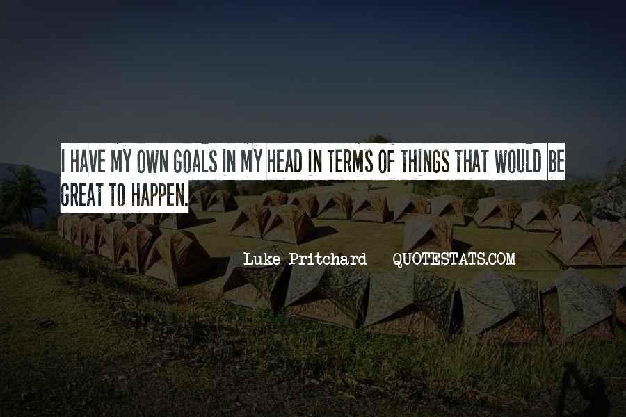 Pritchard Quotes #1413452