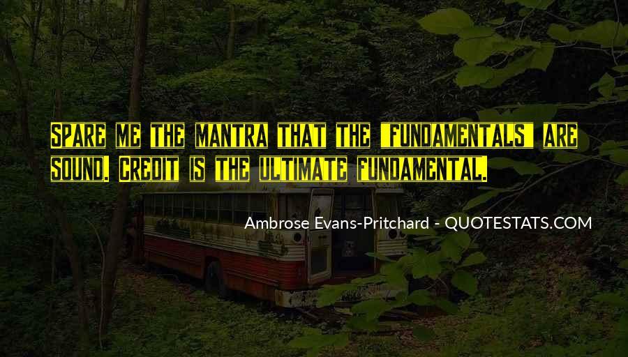 Pritchard Quotes #769441