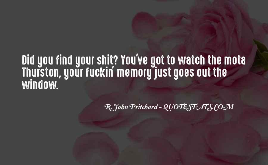 Pritchard Quotes #783226