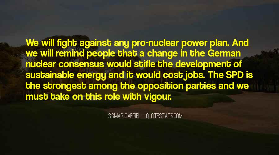 Pro Nuclear Energy Quotes #165585