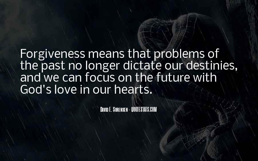 Problems Of The Past Quotes #1322260