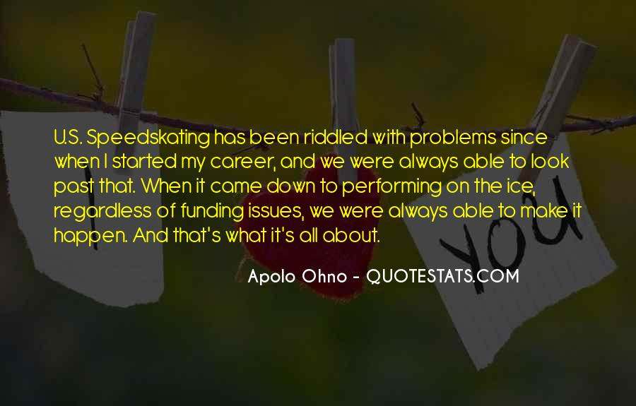 Problems Of The Past Quotes #1947
