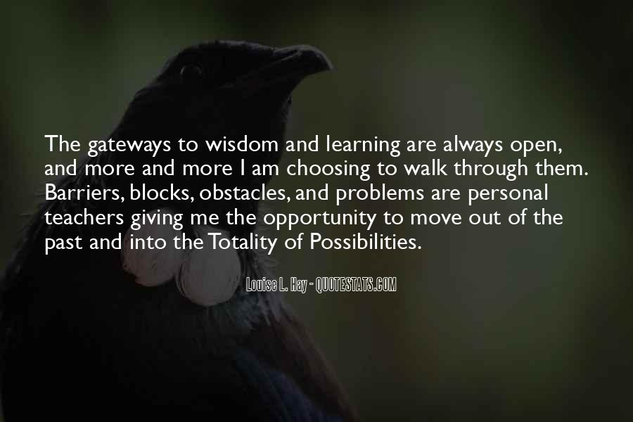 Problems Of The Past Quotes #996150