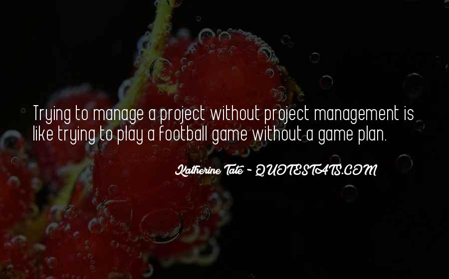 Project Plan Quotes #532890