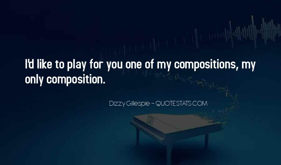 Quotes About Dizzy Gillespie #754020