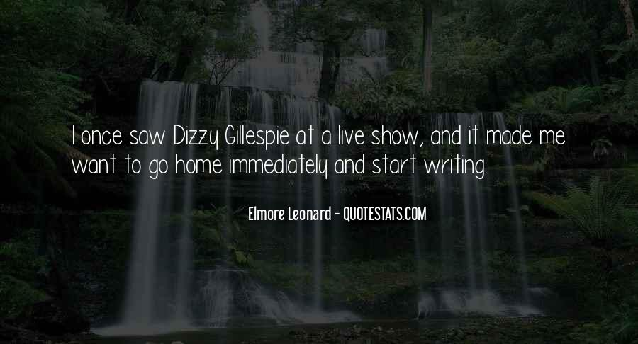 Quotes About Dizzy Gillespie #900876