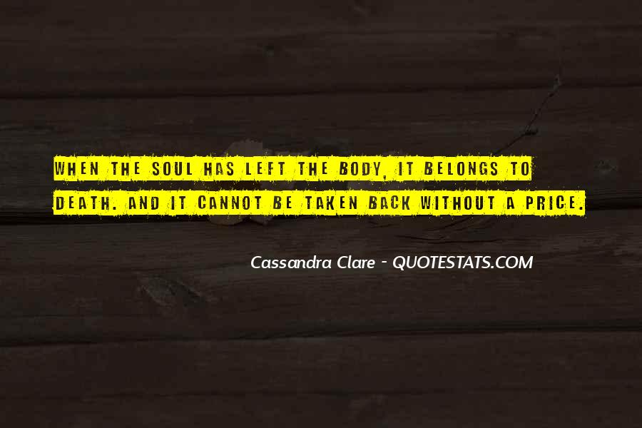Quotes About Cassandra #1217