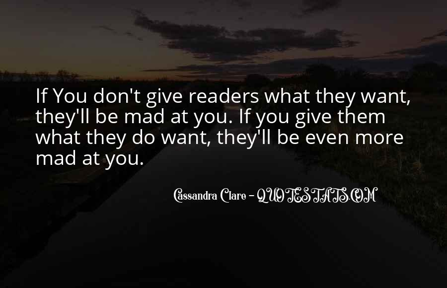 Quotes About Cassandra #2460